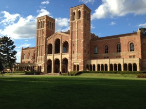 Royce Hall Exterior Day 1